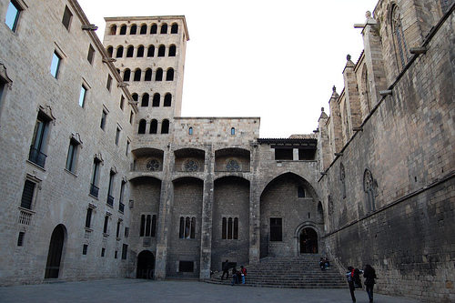 Королевский дворец Барселоны