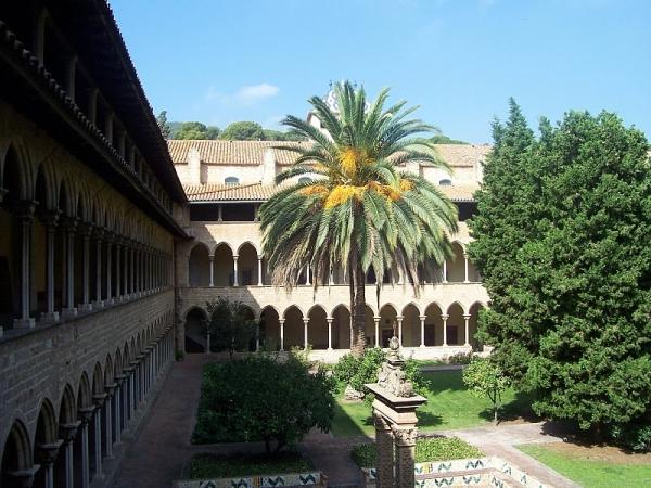 Парки в монастыре Педральбес