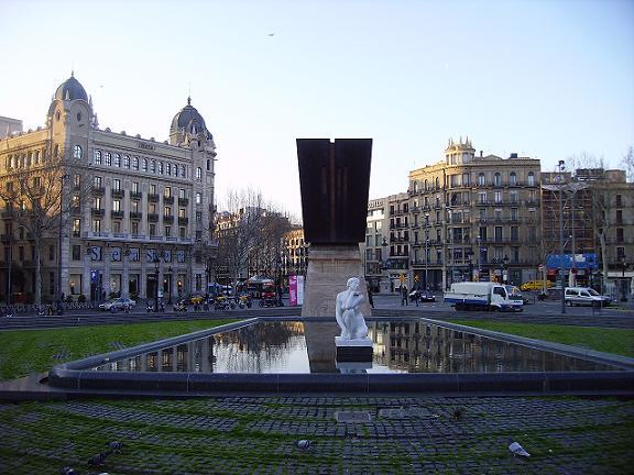 Каталонская площадь в Барселоне