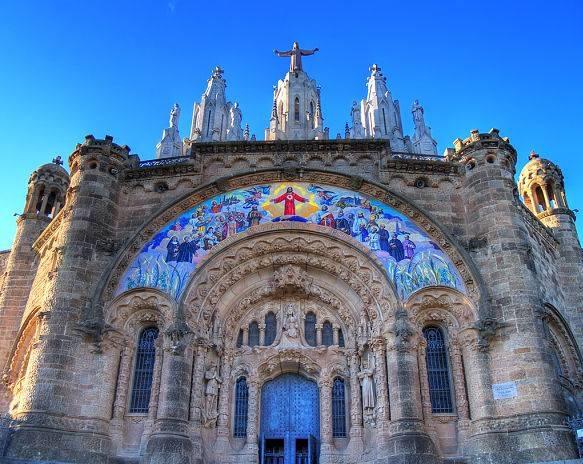 Храм Христа на горе Тибидабо, Барселона