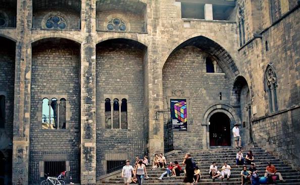 Plaza del Rei Gothic Barcelona