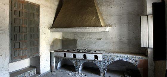 Кухня в монастыре Санта Клара