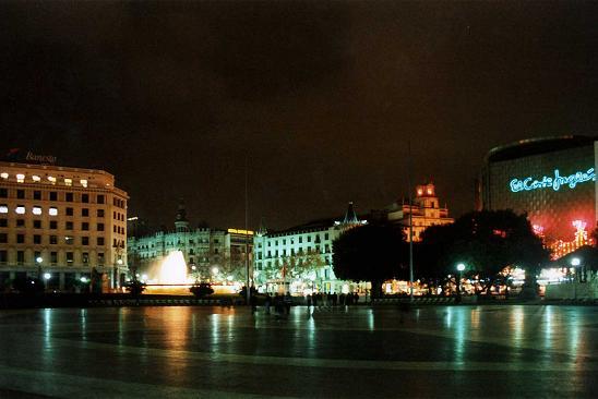 Barcelona Placa de Catalunya