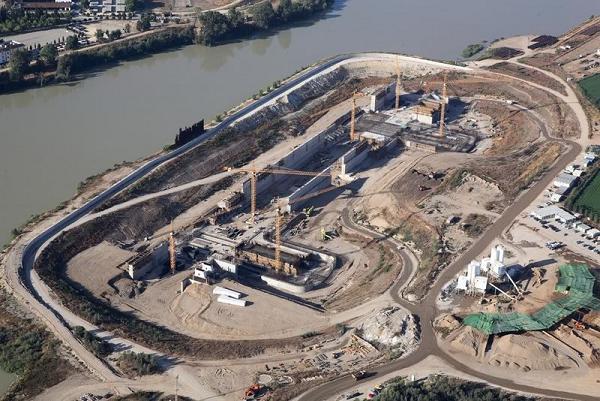 Строительство севильского порта