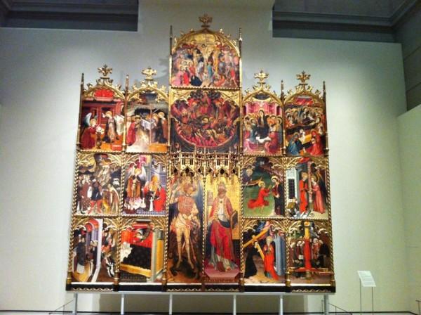 Иконы в музее MNAC