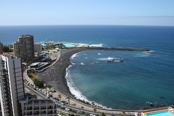 Вид на Пуэрто де ла Крус