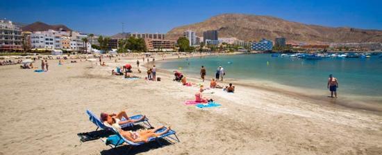 Пляж Лос Кристианос