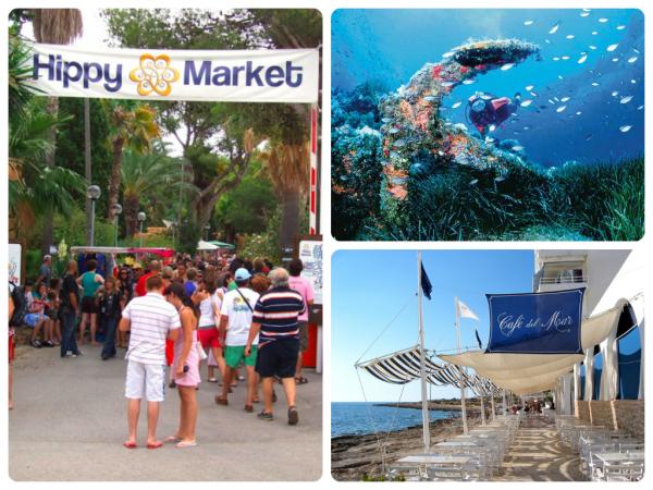 Отдых на Ибице: дайвинг, рынок хиппи (фотографии)