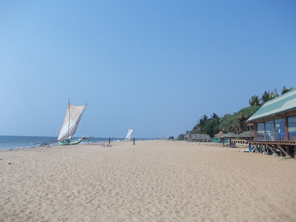 Пляж в Негомбо, Шри-Ланка