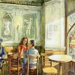 Cafe de l`opera, ресторан в Барселоне